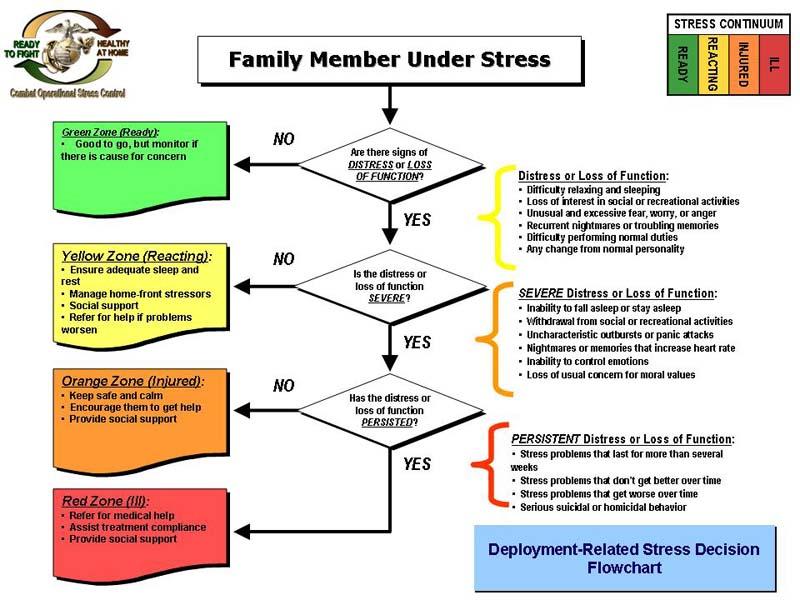 Stress Continuum And Decision Matrix