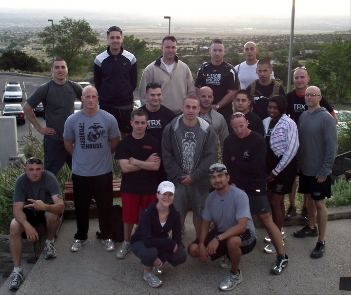 Combat Fitness Trainer Course – Albuquerque, NM, Sandia Mountain Hike (May 2011)