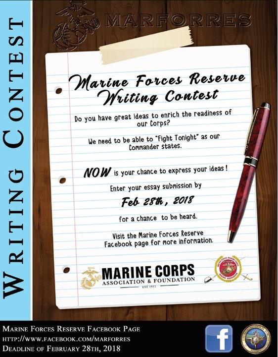 writing contest poster